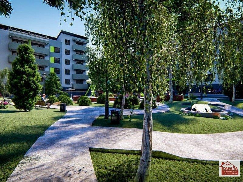 Apartament 2 camere (47 mp) + Gradina (16 mp ) (Garden Plus) + parcare!