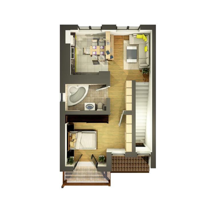 Popas Pacurari, bloc nou, apartamente 2 camere