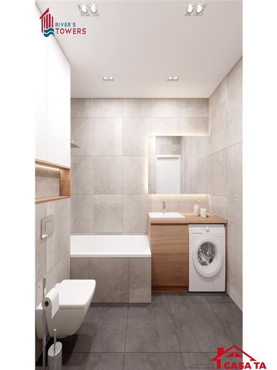Apartament 2 camere decomandate 52 mp TV LED cadou si comision 0%