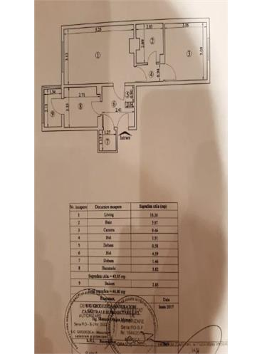 Apartament 2 camere Tatarasi-Metalurgiei la bulevard