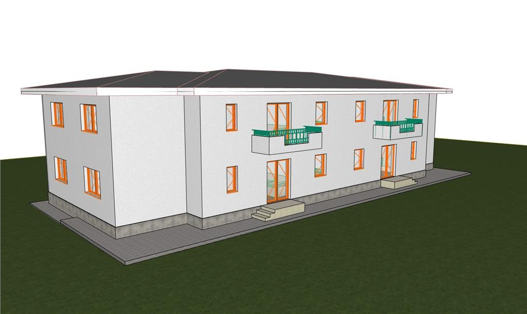 3 camere, bloc nou, Rond Pacurari, zona Bizantiq, 64 mp, loc de parcare