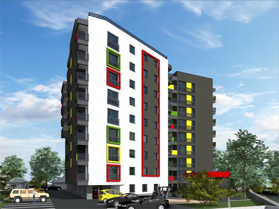 Apartament 2CD Tatarasi bloc nou