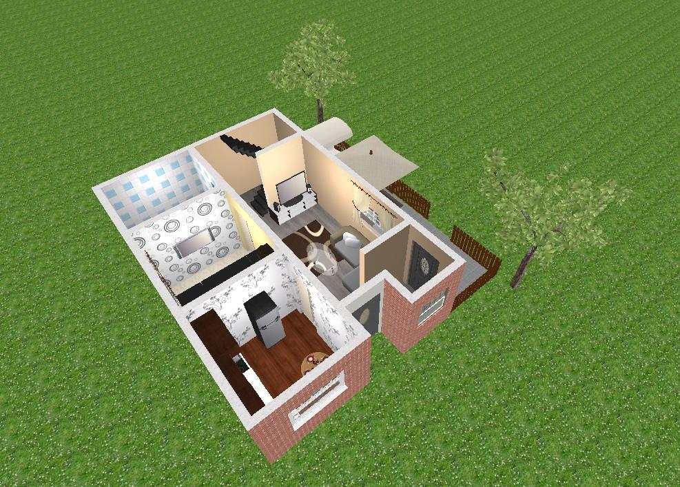 Casa noua in Ciurea,nefinalizata,500 mp teren