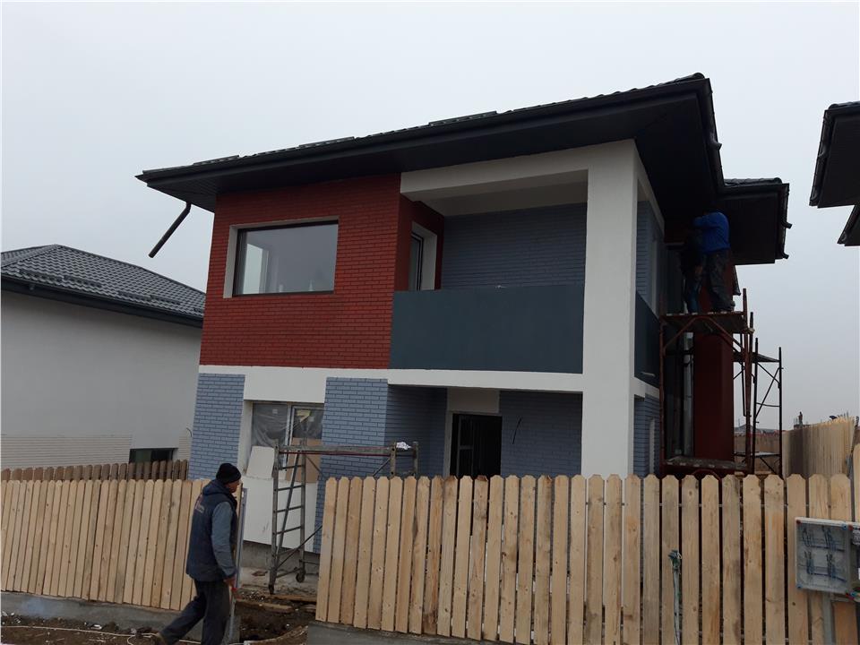 Vila single 126 mp si 245 mp teren in zona Pacurari - Lac Rediu