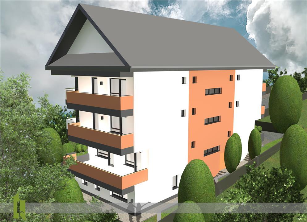 Apartament 3D - suprafata totala 85 mp