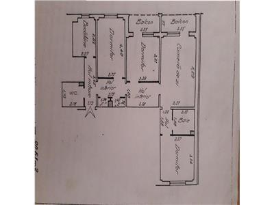 Apartament de 4 camere, Dacia