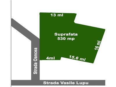 Teren 530 mp zona Tatarasi - Oancea