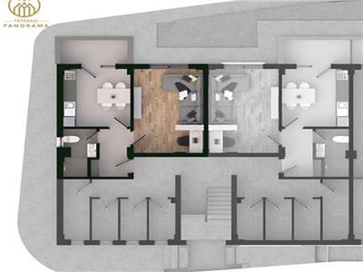 Apartament 1 camera 35 mp